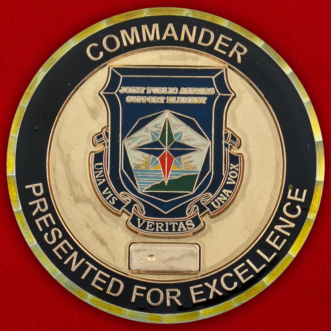 Челлендж коин Стратегического командования ВС США
