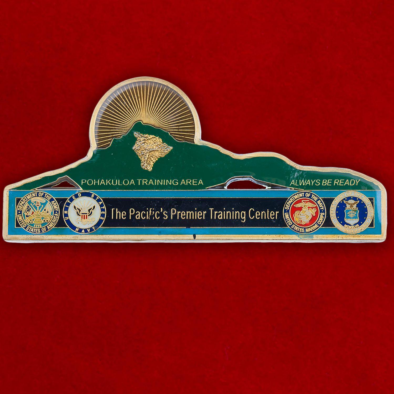 Челлендж коин Тихоокеанского Учебного центра ВМС США