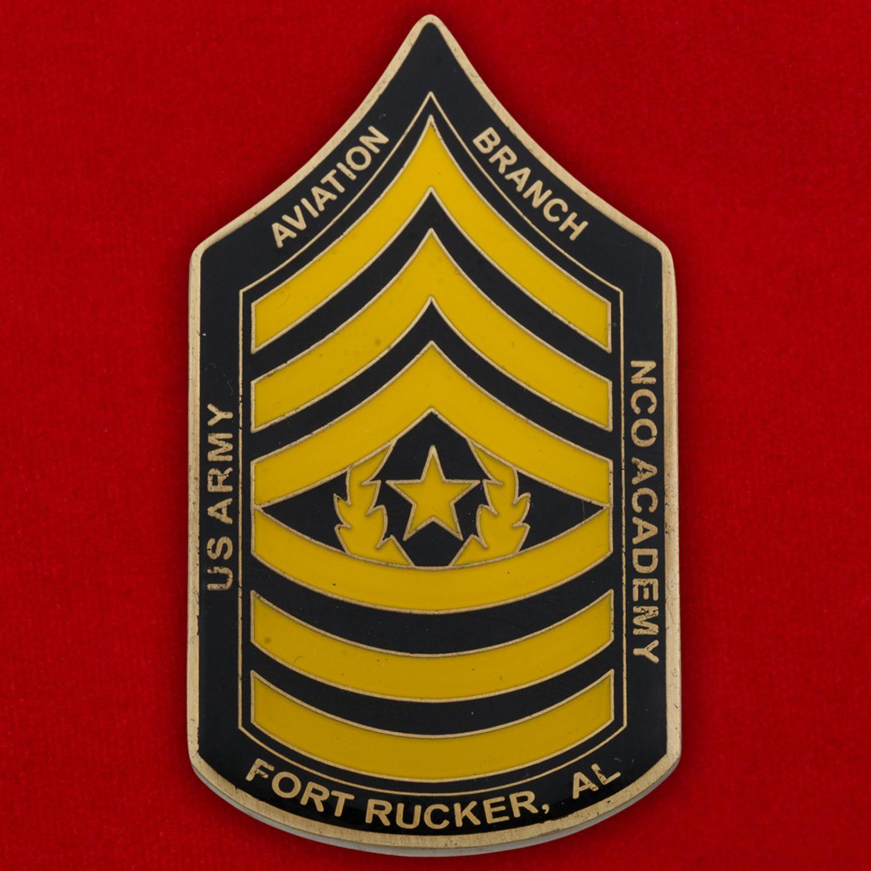 Челлендж коин Центра повышения квалификации Армейской авиации США в Форте Руперт