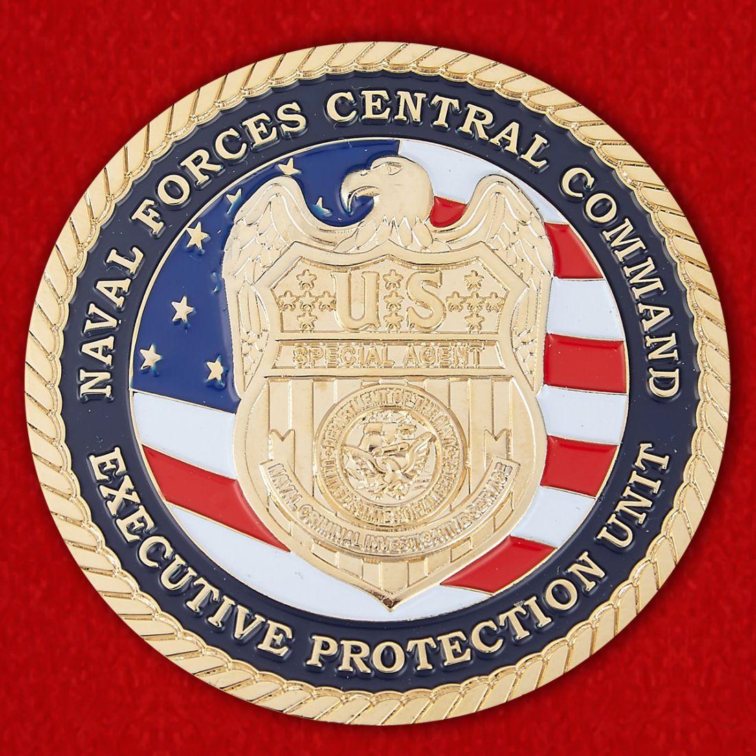 Челлендж коин Центрального командования ВМС США
