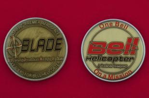 Челлендж коин участников программы развития сотрудников компании по производству вертолетов Bell Helicopter Textron, США