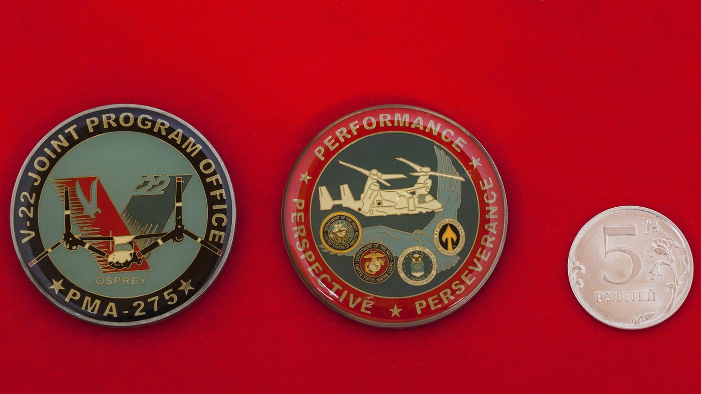 Челлендж коин управления по разработке совместной программы по созданию конвертоплана V-22 Osprey