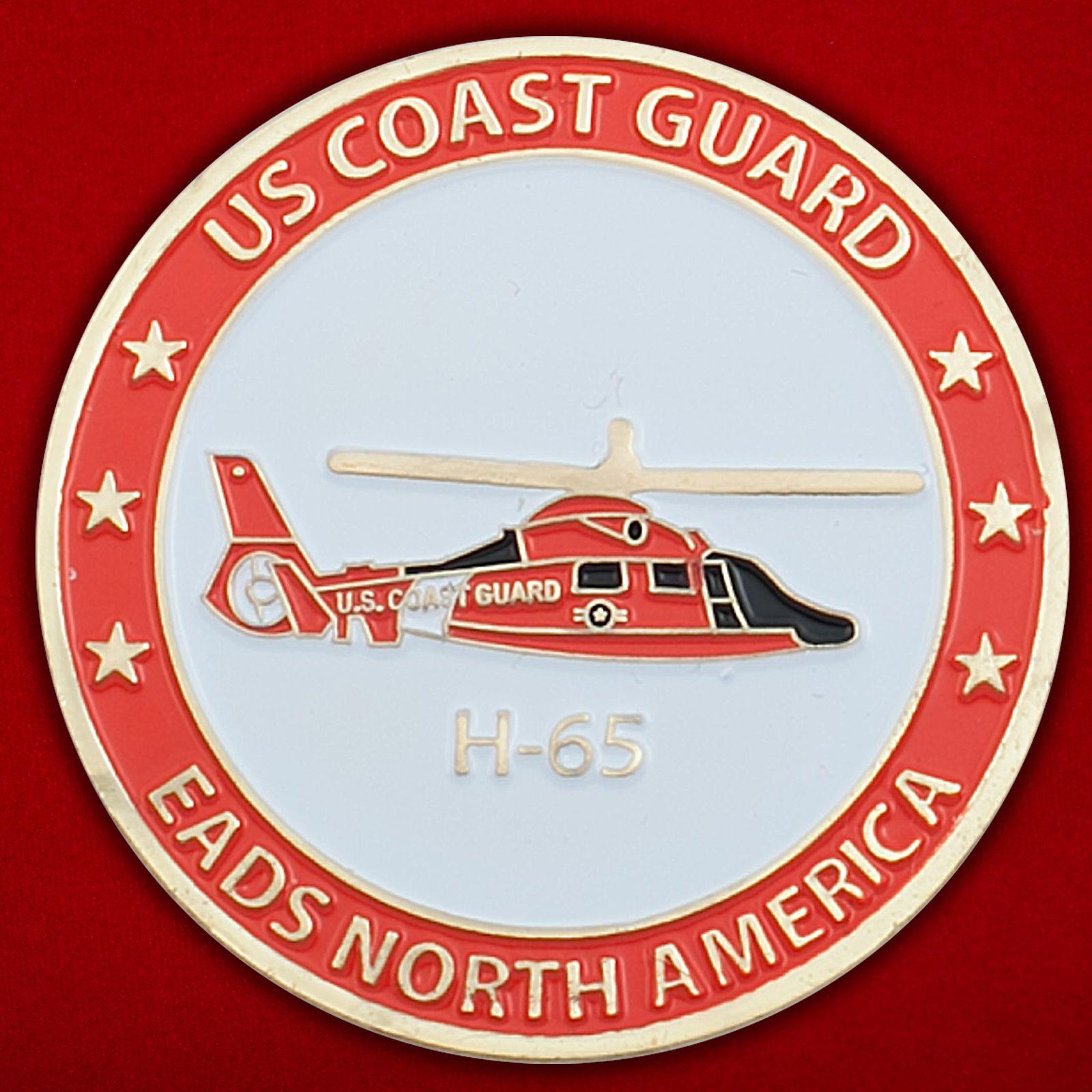 Челлендж коин Береговой охраны США