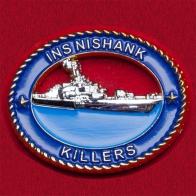 "Челлендж коин ВМС Индии ""Корвет INS Nishank"""