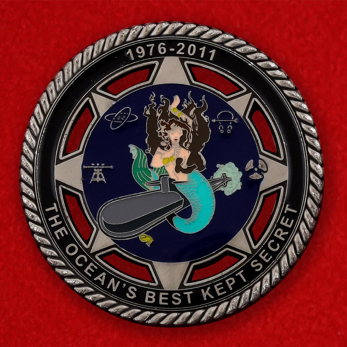 """Челлендж коин ВМС США """"5-я эскадра подводных лодок, отряд Сьерра"""""""