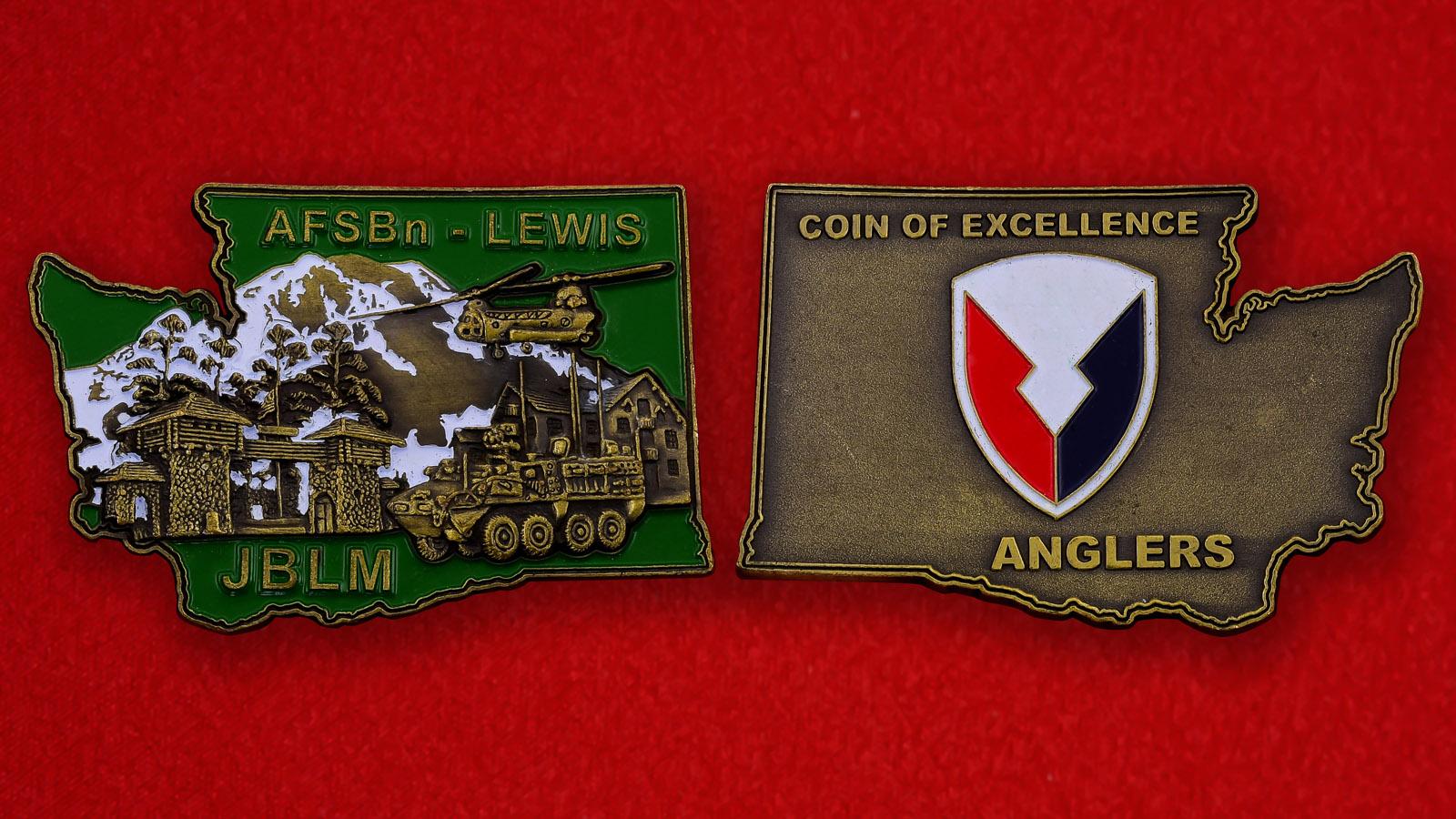 Челлендж коин военной базы Льюис-МакКорд