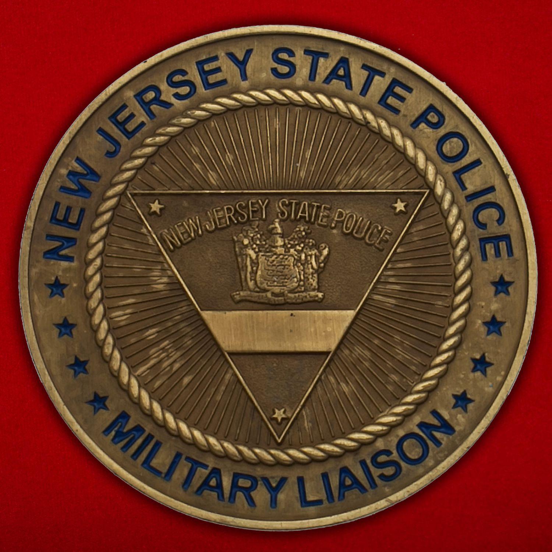 Челлендж коин Военной полиции штата Нью-Джерси