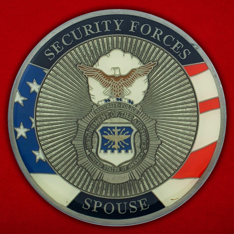 Челлендж коин военной полиции ВВС США