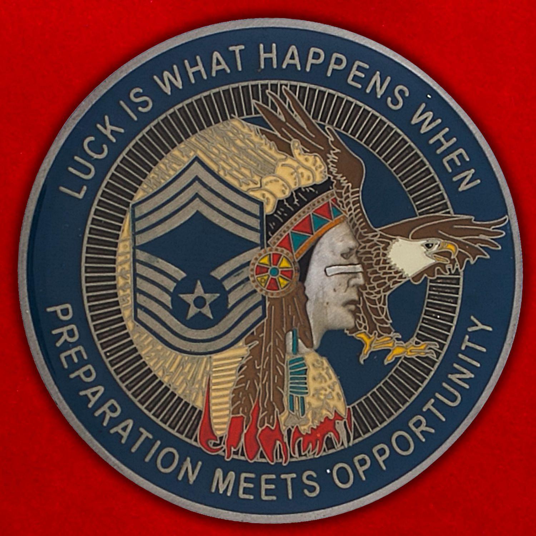 Челлендж коин ВВС Нацгвардии США (Штат Делавер)