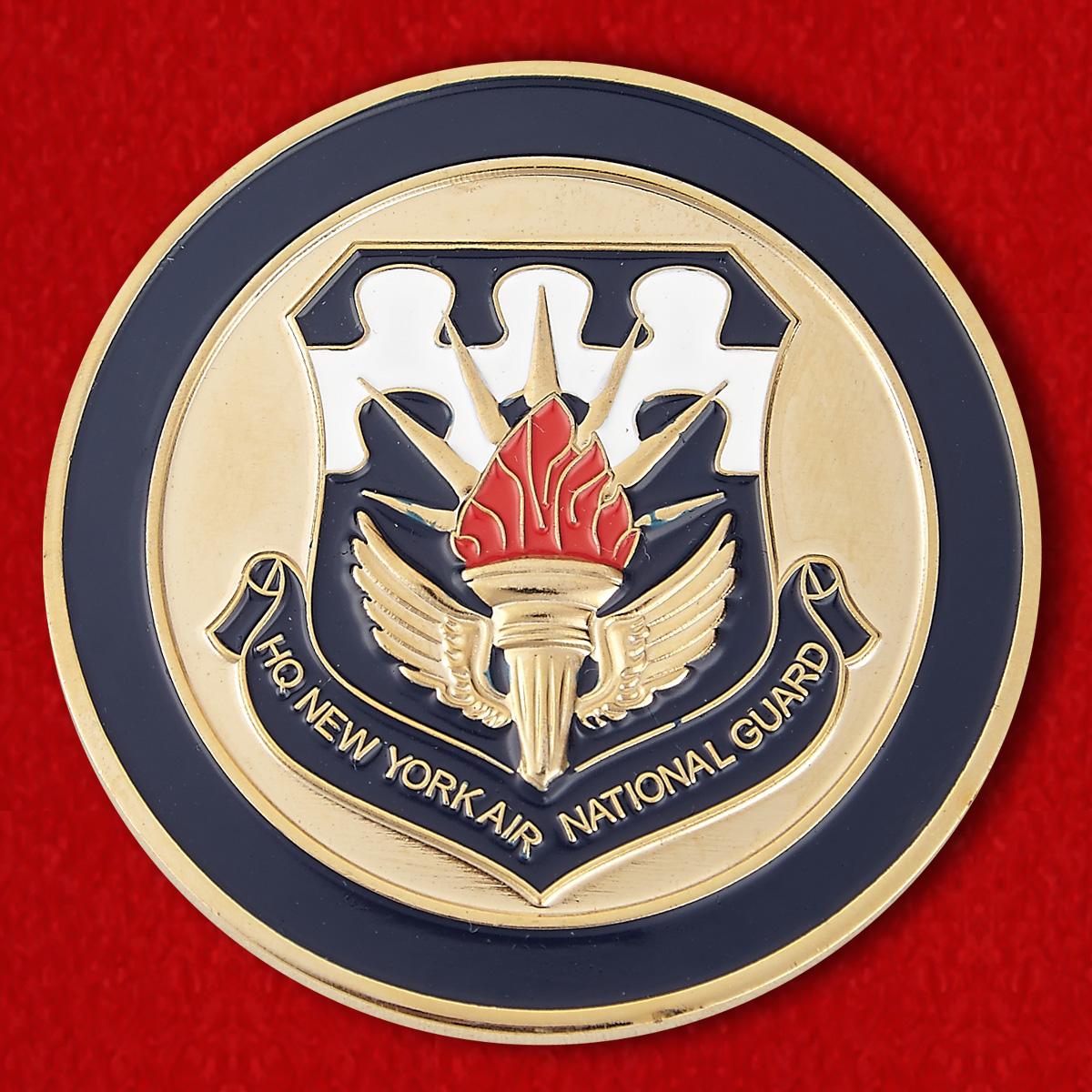 """Челлендж коин """"ВВС Национальной гвардии штата Нью-Йорк"""""""
