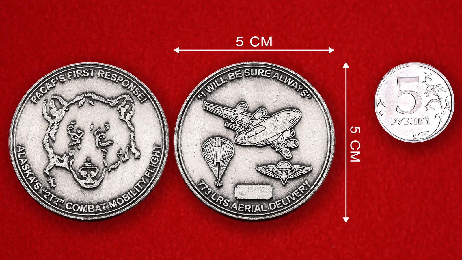 """Челлендж коин ВВС США """"773-е Инженерно-авиационное крыло"""""""