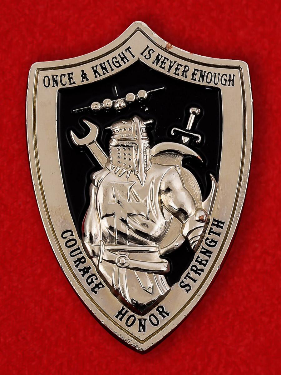 """Челлендж коин ВВС США """"Группа технического обслуживания 19-й эскадрильи авиабазы Литл-Рок"""""""