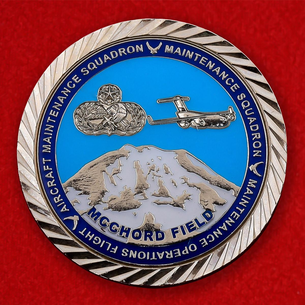 """Челлендж коин ВВС США """"Группа технического обслуживания 446 крыла"""""""