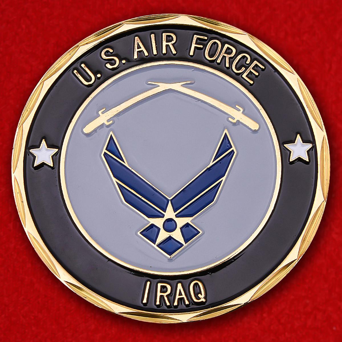 """Челлендж коин ВВС США """"Операция Иракская свобода"""""""