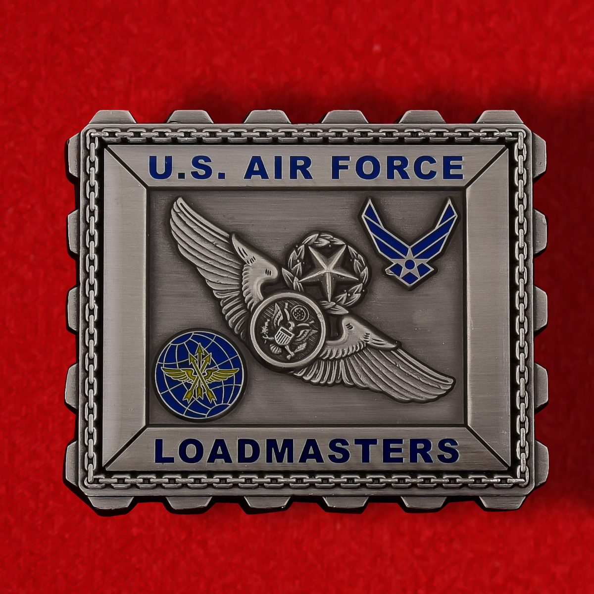 """Челлендж коин ВВС США """"Лучшему оператору погрузочного оборудования"""""""