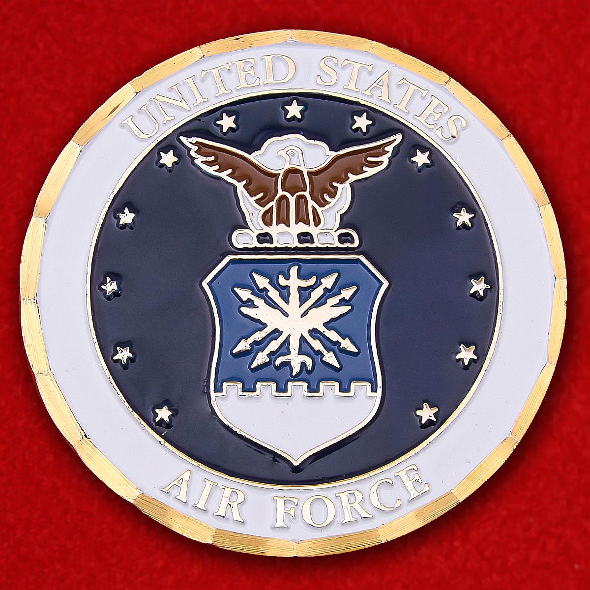 """Челлендж коин ВВС США """"Участнику операции Иракская свобода"""""""
