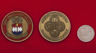 Челлендж коин выпускников штабного колледжа объединенных родов войск ВС США в Норфолке