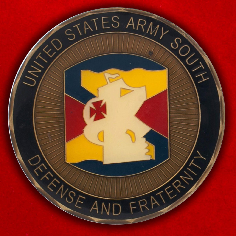 Челлендж коин Южного командования Армии США