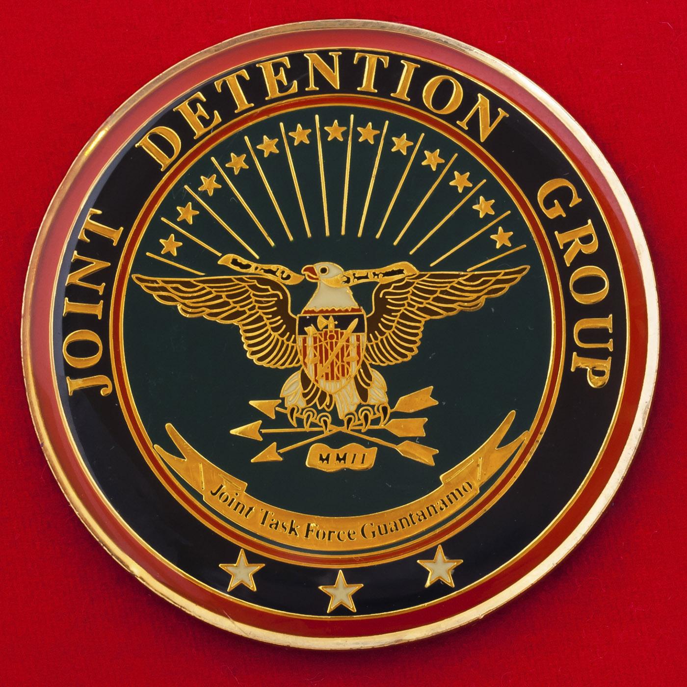 Челлендж коин За отличие командного состава группы постановки помех базы Гуантанамо