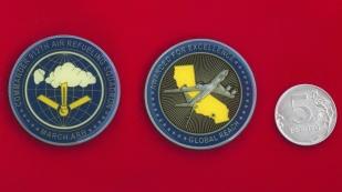 """Челлендж коин """"За отличие"""" от командира 912-й авиационной заправочной эскадрильи ВВС США"""
