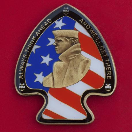 """Челлендж коин """"За отличие"""" от командования 6-го флота ВМС США"""