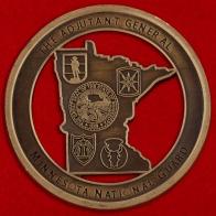 """Челлендж коин """"За отличие"""" от начальника административно-строевого управления Национальной гвардии Миннесоты"""