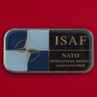 """Челлендж коин """"За отличную службу"""" от командования Международными силами содействия безопасности в Афганистане"""