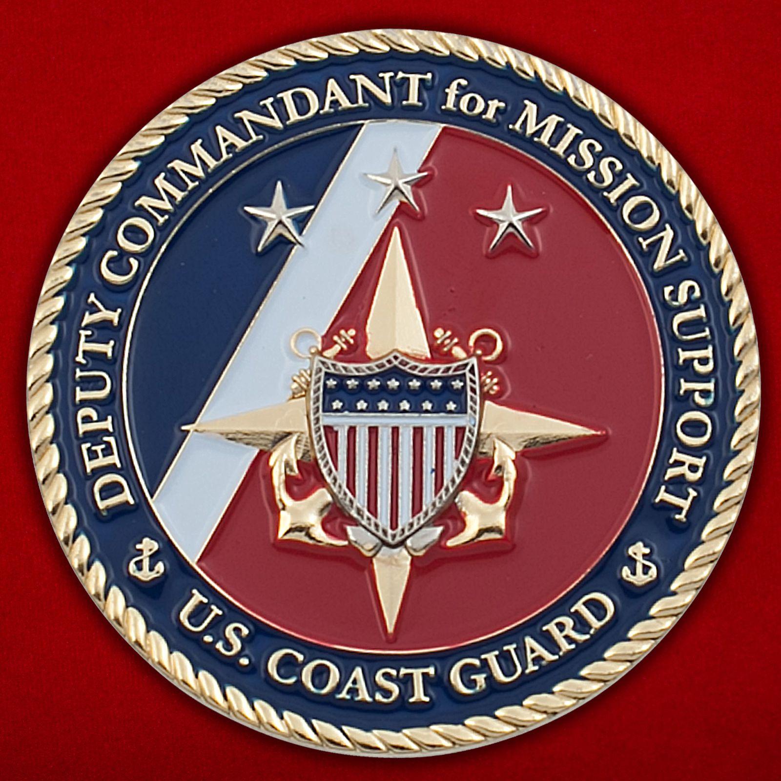 Челлендж коин заместителя Коменданта Береговой охраны США