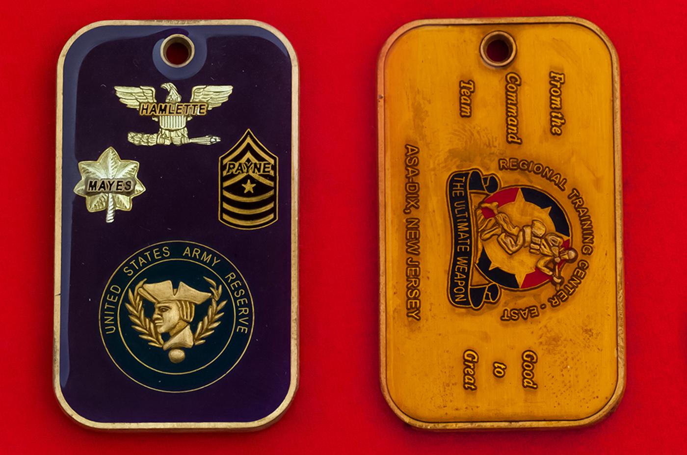 Армейские и военные жетоны по цене изготовителя