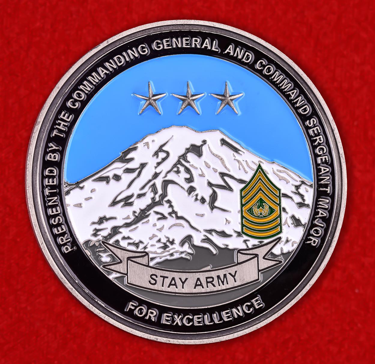 """Челленж коин """"1 армейский корпус США"""""""