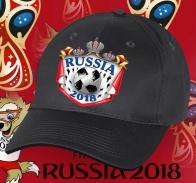 Чемпионская бейсболка Russia 2018 в крутом дизайне.