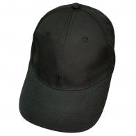 Черная бейсболка без логотипа