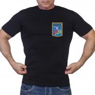 Черная мужская футболка «ВКС»