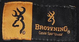 Черная мужская толстовка Browning с камуфляжным капюшоном.
