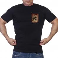Черная футболка «Афган»