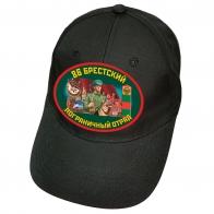 """Черная бейсболка """"86 Брестский ПОГО"""""""