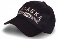 Чёрная бейсболка Alaska