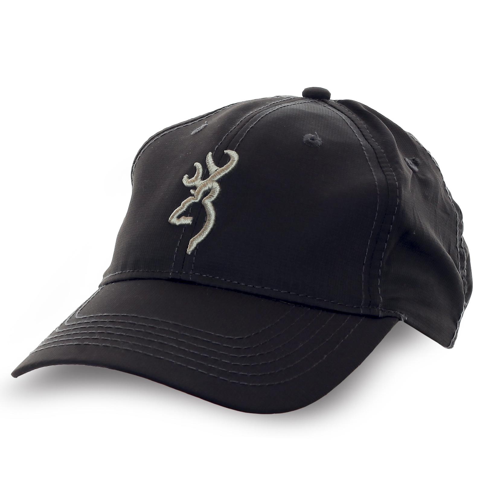 Черная бейсболка Browning. Достойный пошив, отличная цена