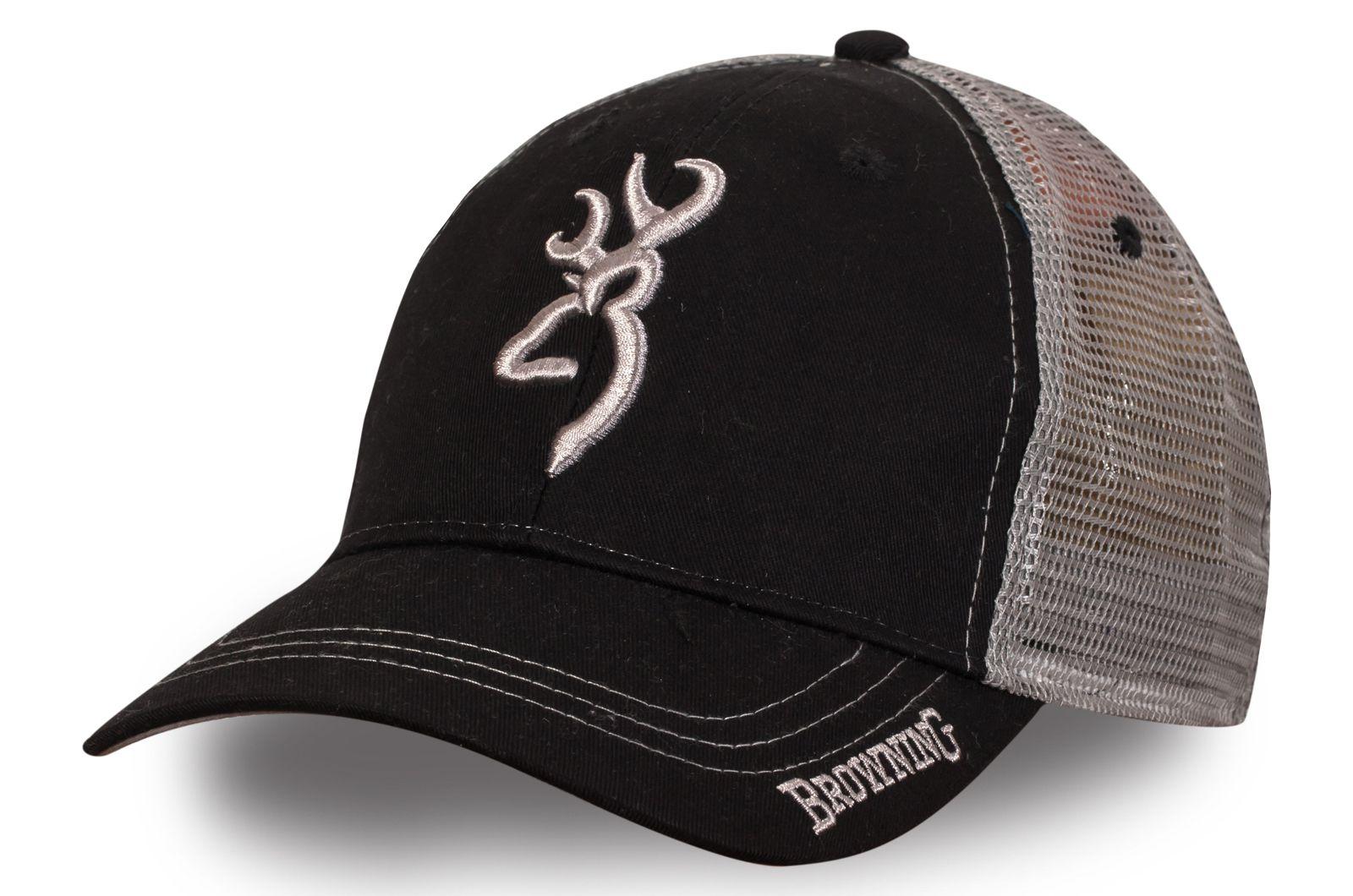 Чёрная бейсболка Browning - купить по лучшей цене