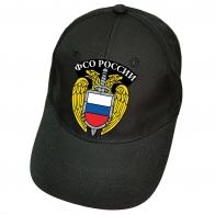 Чёрная бейсболка ФСО России