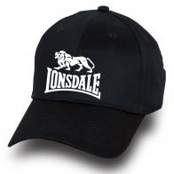 Черная бейсболка Lonsdale