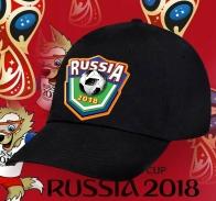 Черная бейсболка Russia 2018.