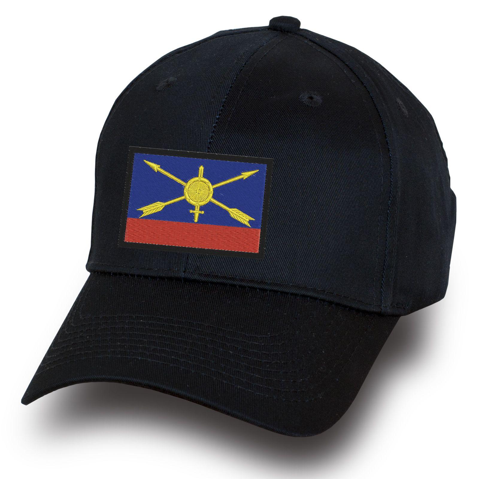 Черная бейсболка РВСН России - купить онлайн