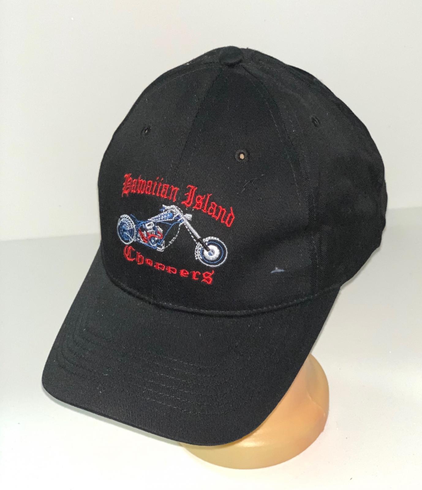 Черная бейсболка с байкерской вышивкой