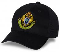 Черная бейсболка с эмблемой Погранслужбы