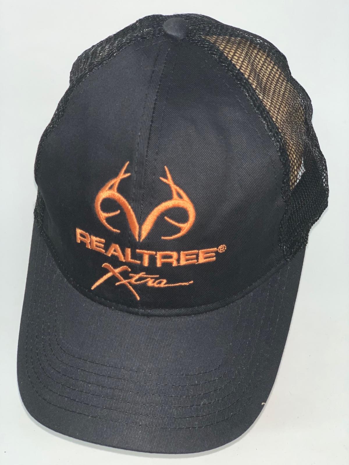 Черная бейсболка с сеткой и вышивкой Realtree