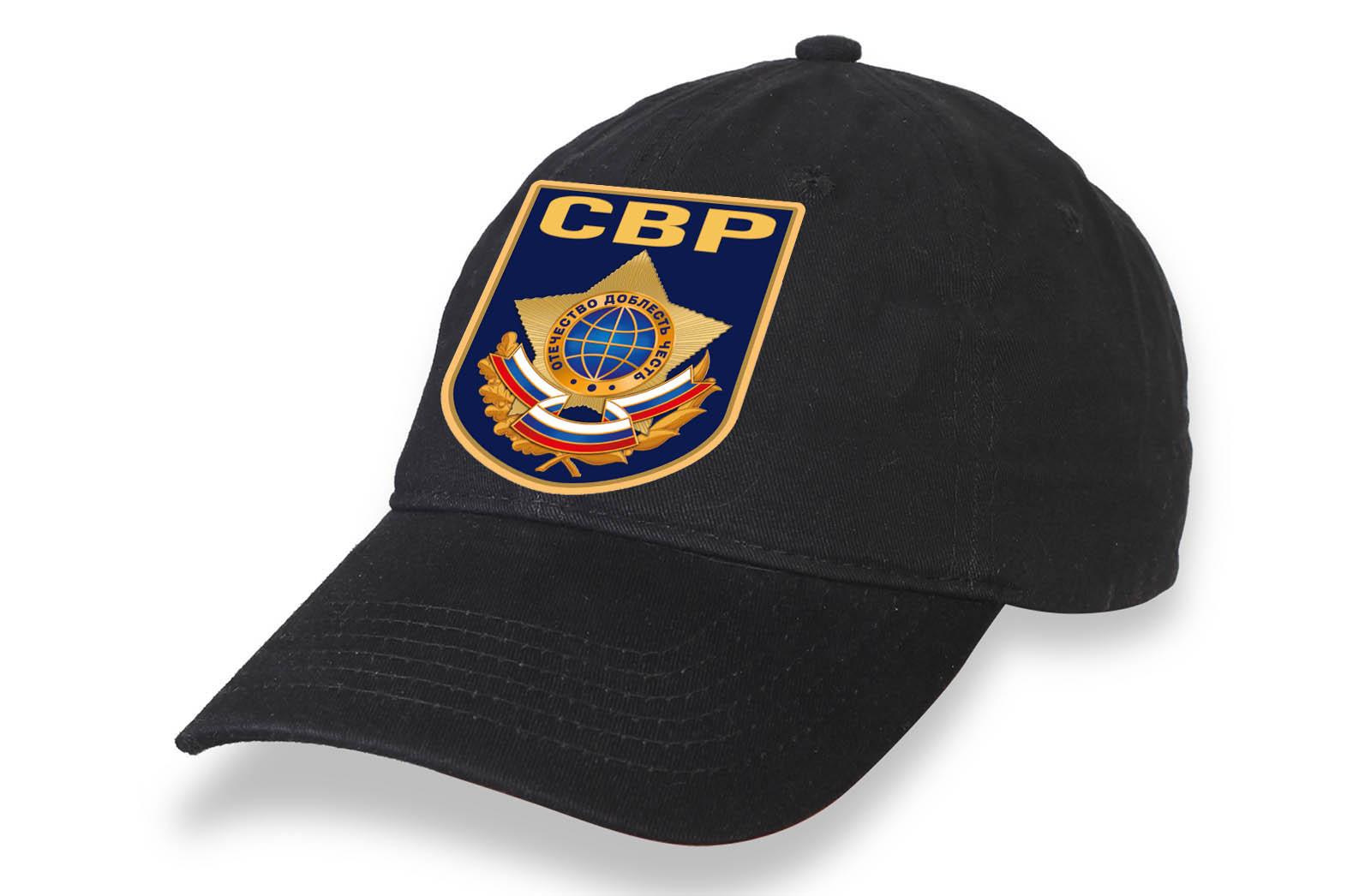Чёрная бейсболка Служба внешней разведки