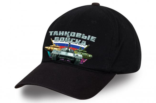 Черная бейсболка танкиста - купить по лучшей цене
