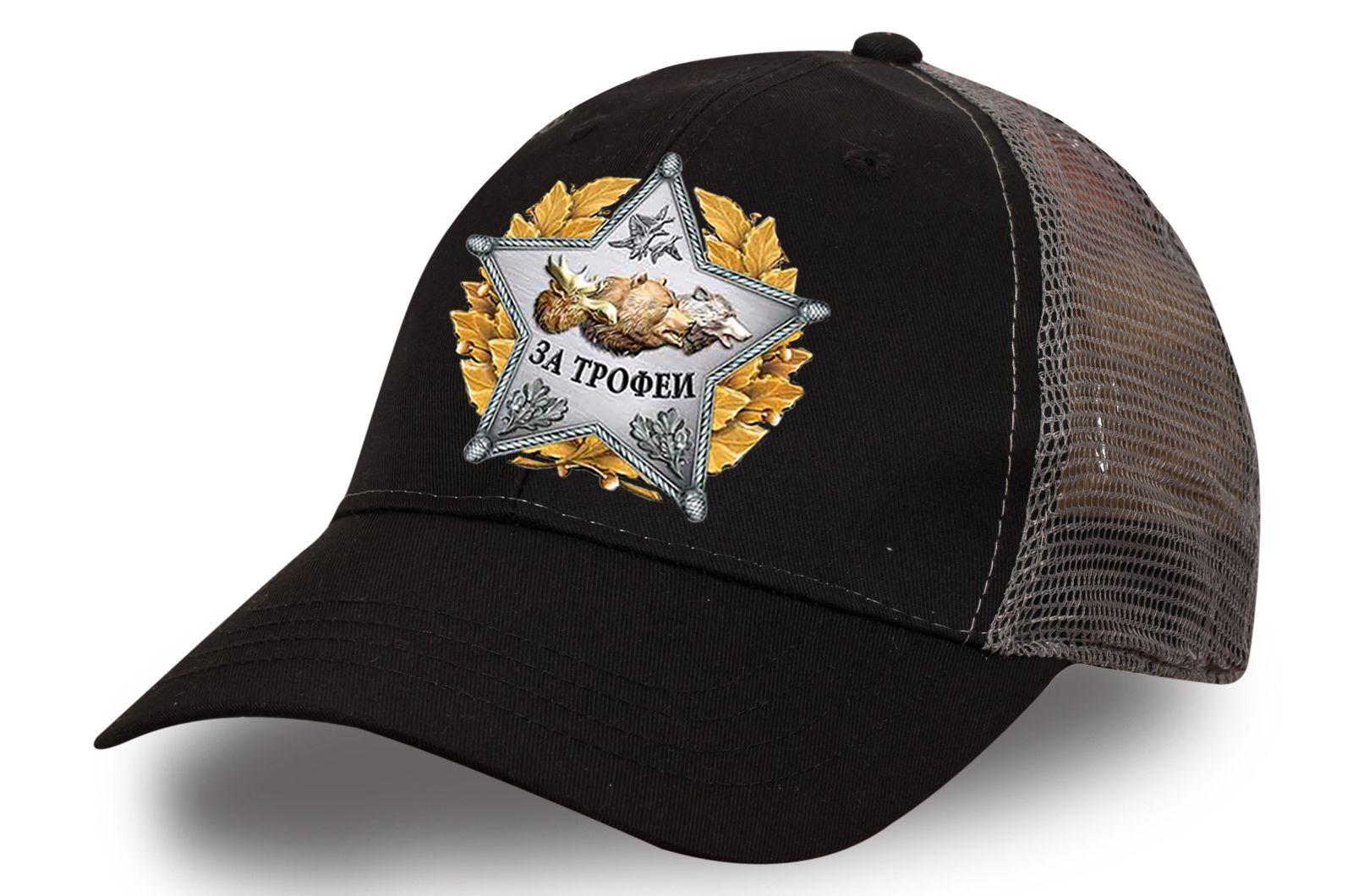 """Черная бейсболка """"Звезда охотника"""" - купить по выгодной цене"""