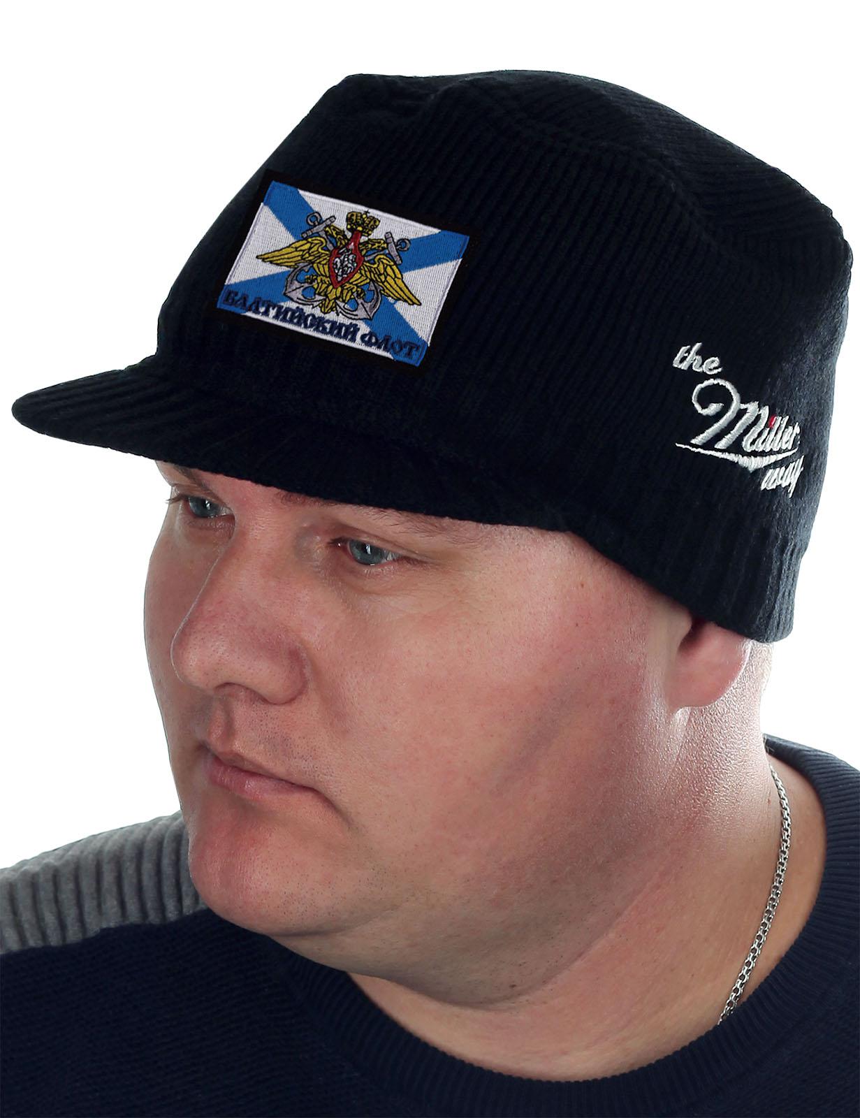 Черная брендовая шапка Miller Way - купить онлайн
